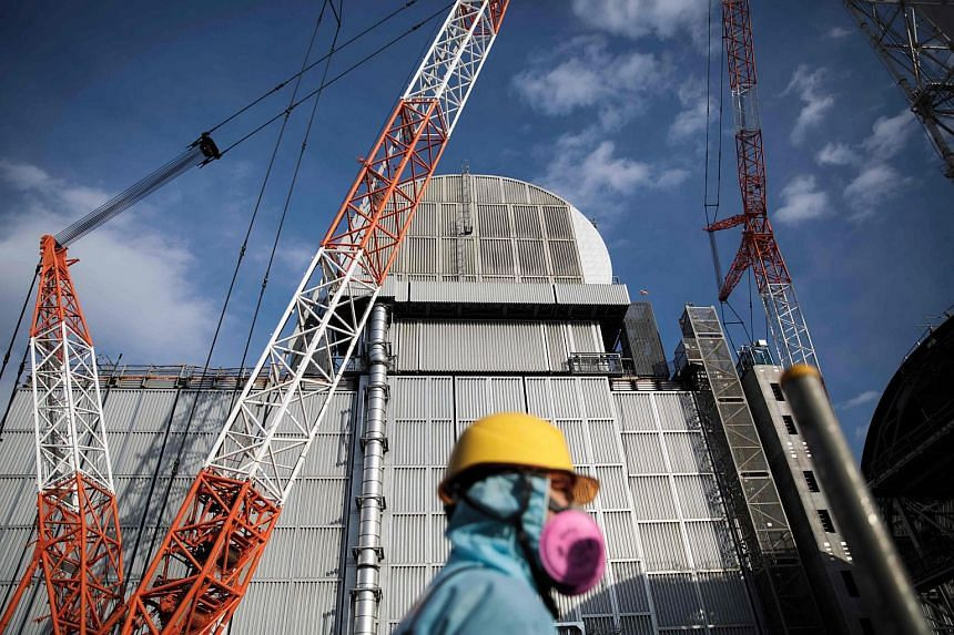 Tokyo Electric Power Company (Tepco), which operated the Fukushima Dai-ichi plant (pictured), was ordered to pay 15.2 million yen in damages to the family of a resident who killed himself when he was ordered to evacuate following the nuclear disaster