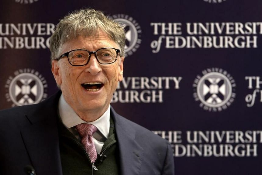 Co-founder of the Microsoft Corporation, Bill Gates, at an event to launch the Global Academy of Agriculture and Food Security at the University of Edinburgh, Scotland on Jan 26, 2018.