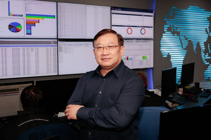 Retrenched after 17 years as a systems engineer, Mr Alvin Koh took up TeSA's programme for cyber security and joined ST Electronics as a white hat hacker.
