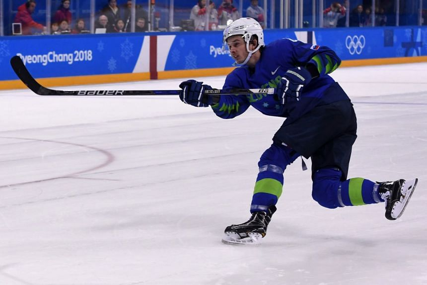 Slovenian ice hockey player Ziga Jeglic has been banned from the Olympics after failing a drug test.