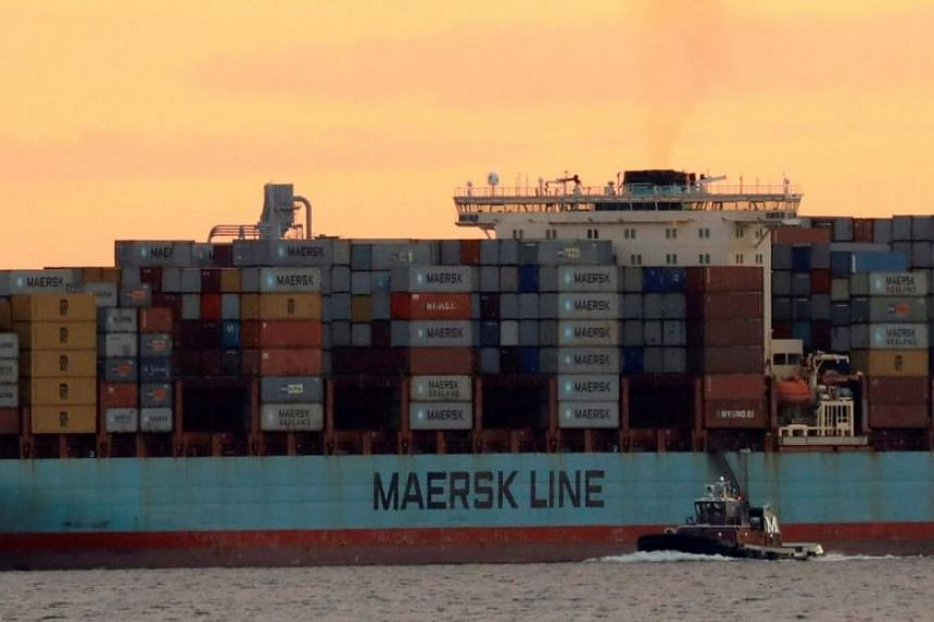Maersk is expanding its competitive universe to include different types of companies, including couriers like FedEx and UPS.
