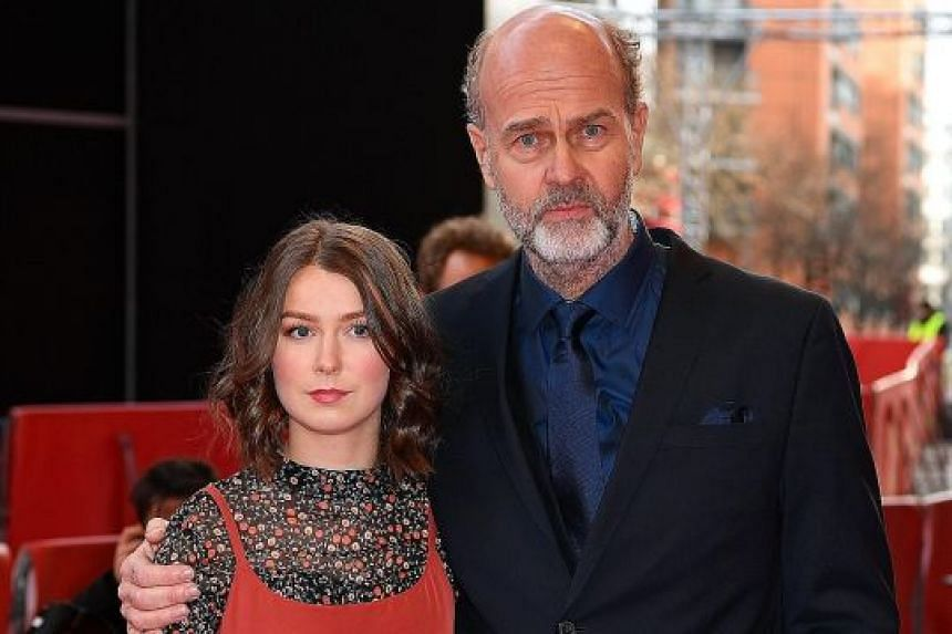 U-July 22 director Erik Poppe and actress Andrea Berntzen at the 68th annual Berlin International Film Festival.