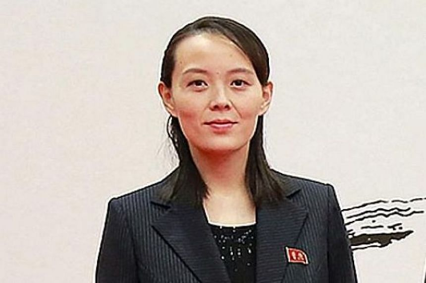 A picture of Ms Kim Yo Jong taken in Seoul on Feb 10. She was in the South as her brother's special envoy.