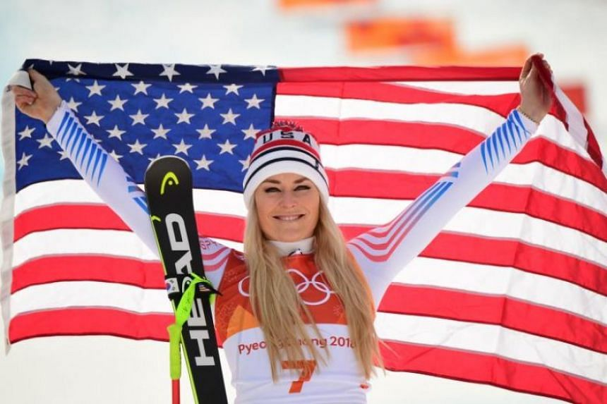 """Lindsey Vonn has pointedly referred to Pyeongchang as """"probably"""" her last Olympics and she used the same language after her race at the Joengseon Alpine Centre."""
