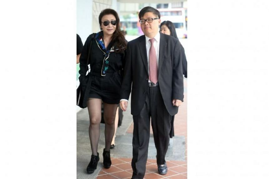 On Feb 21, a hearing was held to determine whether Ferrari driver Shi Ka Yee (left) has an underlying psychiatric problem, and if there was a causal link between the condition and the offence she committed.