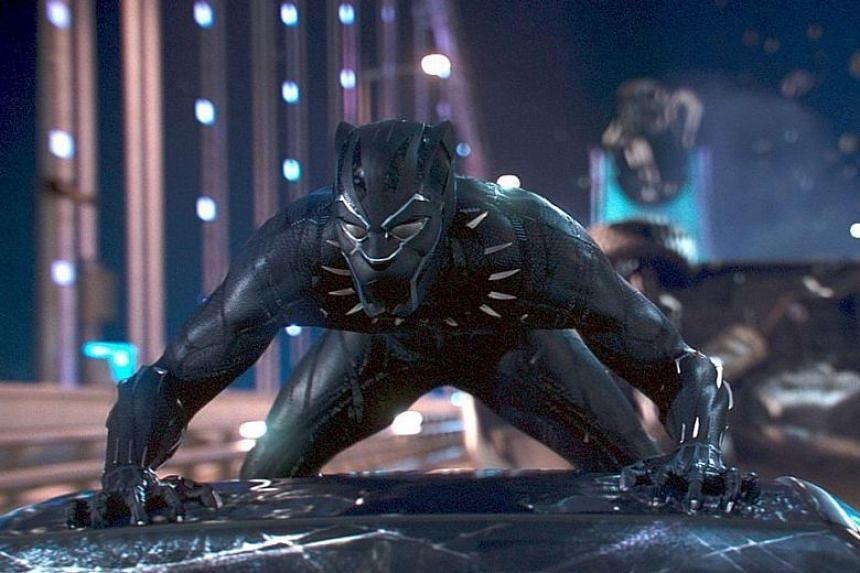 Chadwick Boseman plays T'Challa, leader of a fictional African nation who becomes the powerful Black Panther.