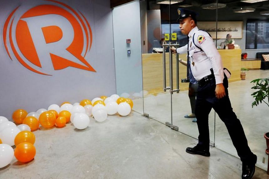 The office of Rappler in Pasig, Metro Manila in Philippines on Jan 15, 2018. The local news site is known for its tough scrutiny of Philippine President Rodrigo Duterte's government.