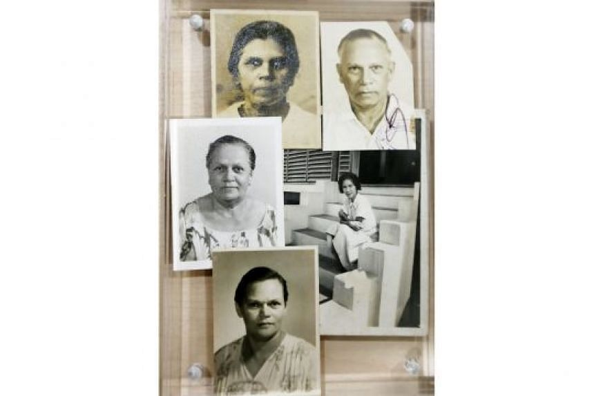 Mr Wyatt's family (anti-clockwise from top right): father Bertie Wyatt, grandmother Betty, aunts Marie and Margaret, and mother Nora.