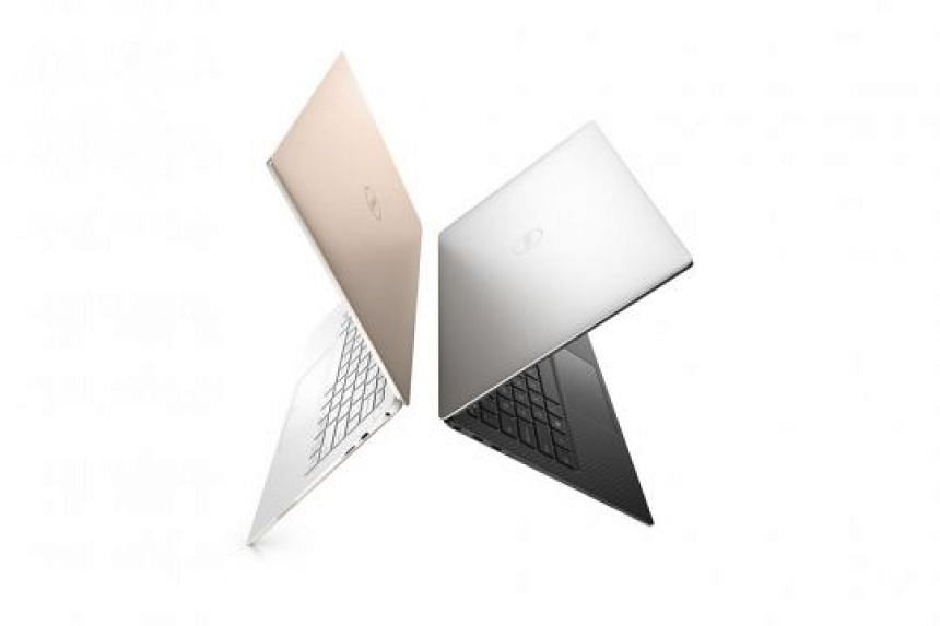 The new XPS 13 is thinner at 11.9mm, down from 15mm.