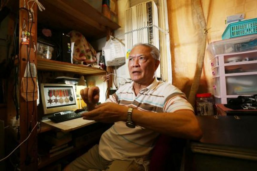 Malaysian researcher Andrew Hwang, who is with the Malayan Volunteers Group, helped Mr Tony Wee (above) to find out more about his father, Pte Wee Swee Beng, who won five medals for his service during World War II. Pte Wee, who later became a busines