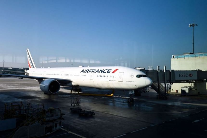 Air France said on Feb 21, 2018, that it expected to maintain 75 per cent of its scheduled service but only 50 per cent of its long-haul flights and advised travellers to postpone their trips until Feb 27 at no extra cost.