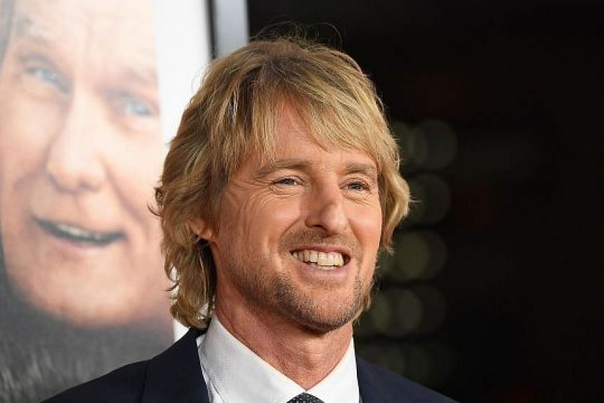 COMIC ACTOR OWEN WILSON