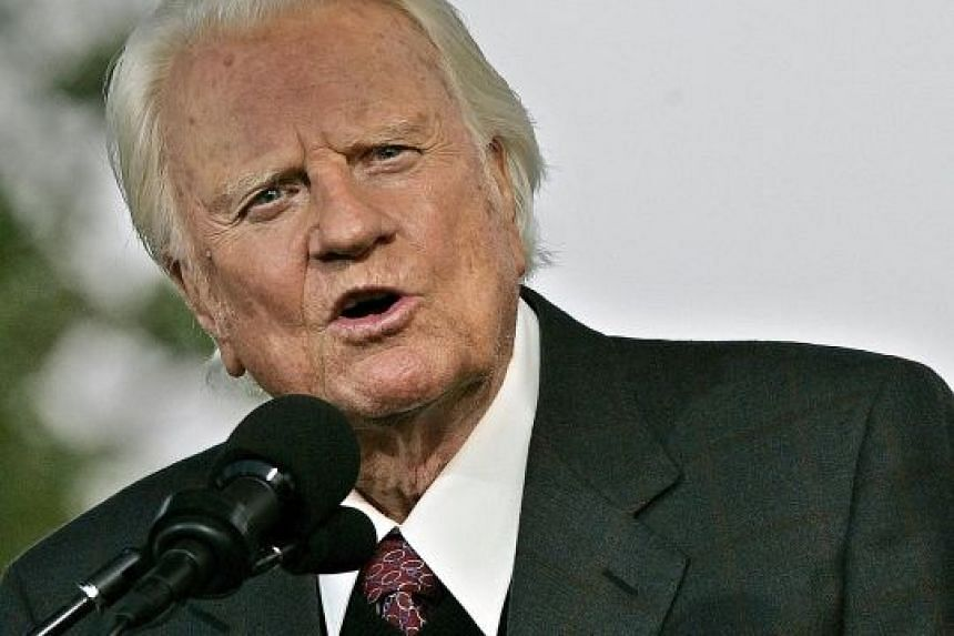 Evangelist Billy Graham is said to have preached to more people than anyone else in history.