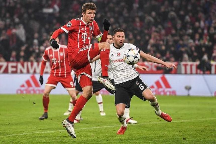Thomas Muller, scoring Bayern's third goal and his second, is clearly back to his best after coach Jupp Heynckes' return for a fourth stint.