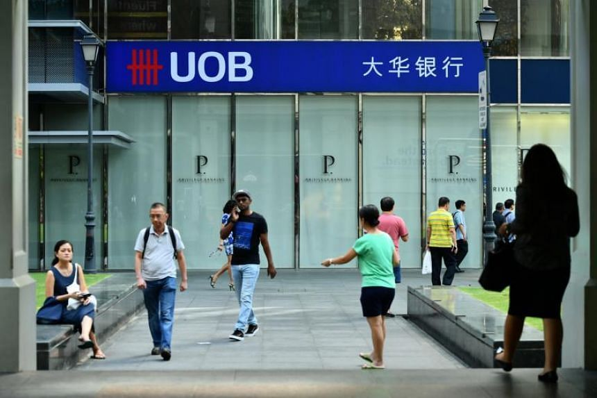 The UOB branch at Raffles Place.