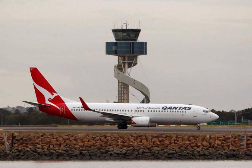 Qantas Airways posted a jump in interim net profit on Feb 22, 2018.