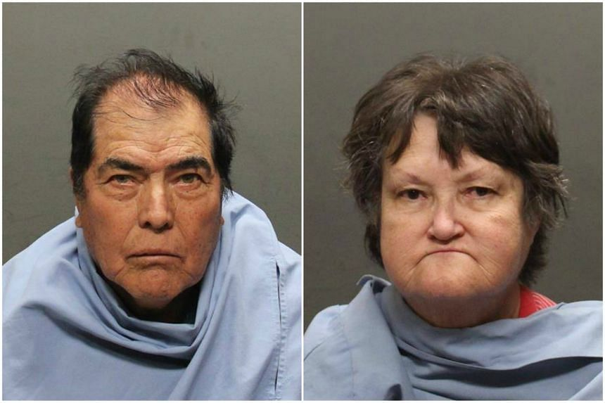 Police in Arizona arrested Benito Gutierrez (left) and Carol Gutierrez and charged them with three counts of child abuse.