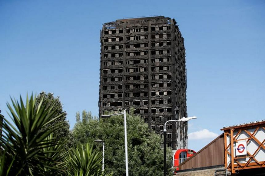 The charred Grenfell tower block has become a potent symbol for some campaigners of the deep inequality between those living in Britain's capital.