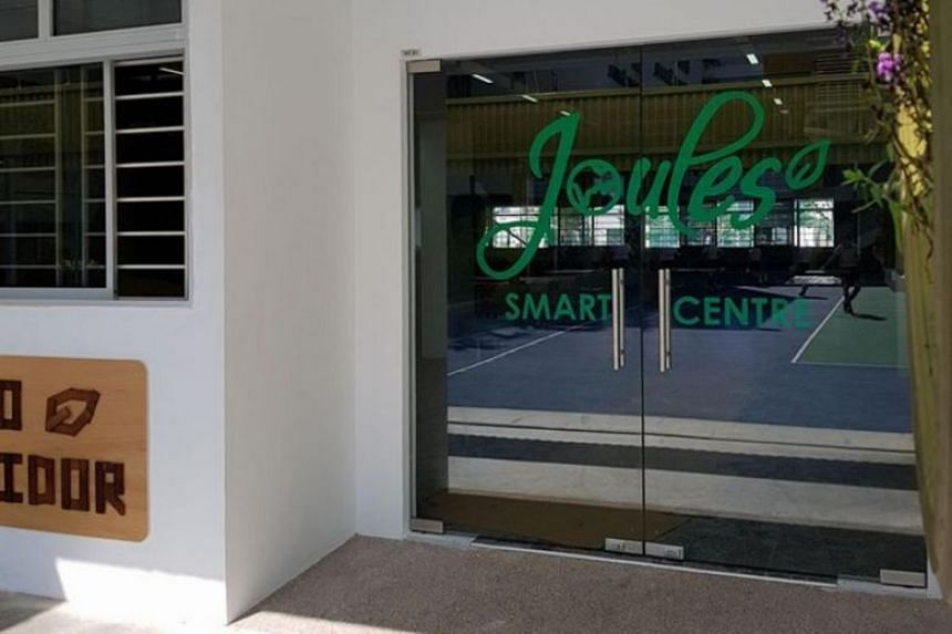The Joules (Junior Outstanding Leaders in Environment for Sustainability) Smart Centre is fitted with certified green building products like paint and flooring and will hold special classes during the curriculum as well as school events and functions