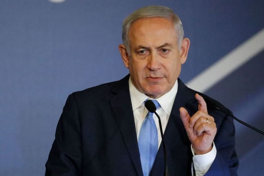 Israeli Prime Minister Benjamin Netanyahu said on Feb 21, 2018, that the Israeli intelligence services thwarted the downing of an Australian plane.
