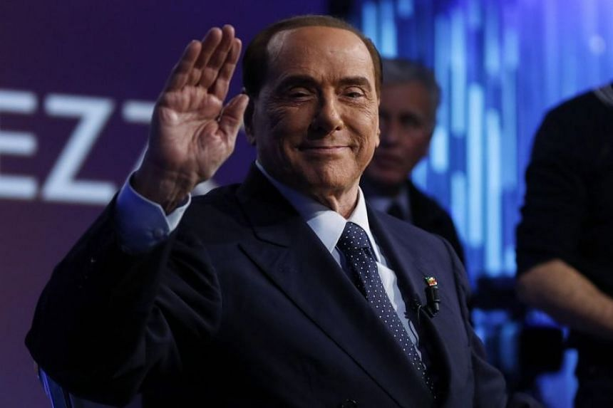 Italy's 81-year-old former leader Silvio Berlusconi still hopes to influence the country's political direction by leading a right-wing coalition in the March 4 polls.