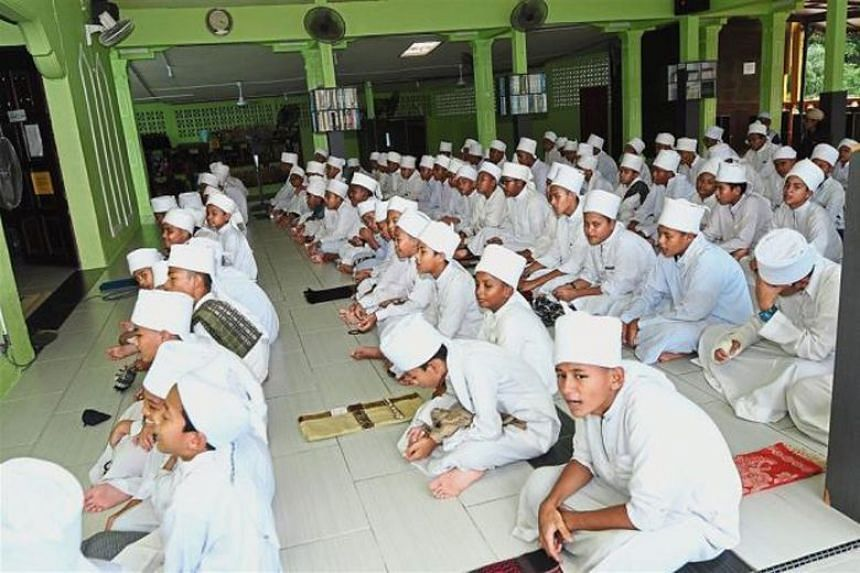 There are more than 36,000 students in some 600 tahfiz schools in Malaysia, which are privately funded.