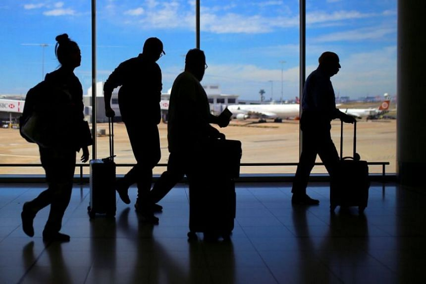 At the moment, international passengers at the airport show their passport six times during check in, baggage drop, border processing, security screening, airport lounge and the boarding gate.