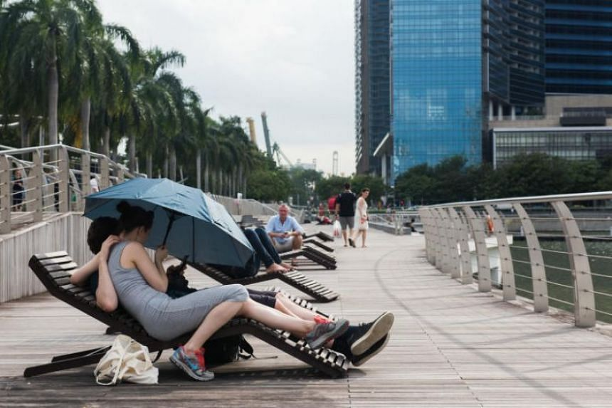 In Singapore, it is common for the index to reach extreme levels during a four-hour period from 11am to 3pm, when the sun intensity peaks and UV radiation is strongest.