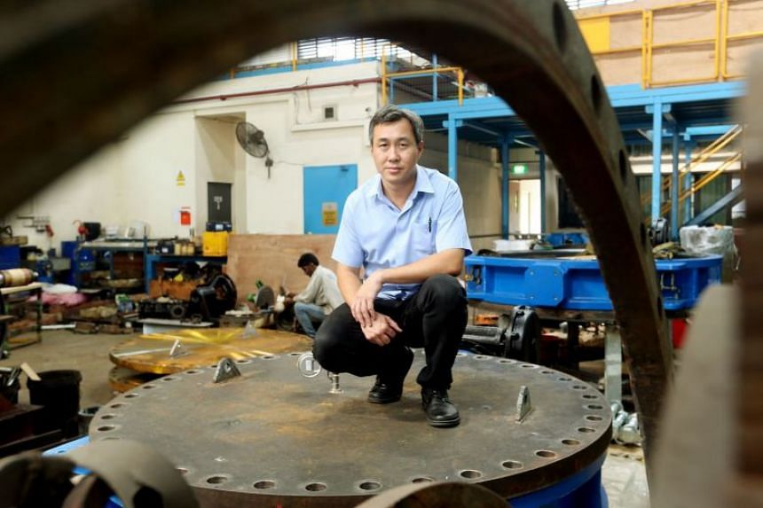 Chief executive of Sanli Environmental Sim Hock Heng. The company announced it has secured four engineering, procurement and construction contracts from the public sector worth S$18.1 million in total.