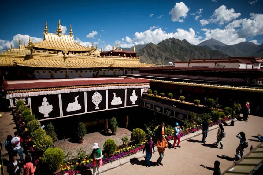 Jokhang temple is a UNESCO World Heritage Site which lies at the heart of old Lhasa.