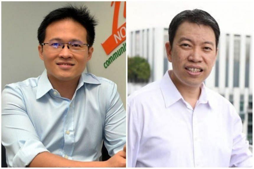 NTUC directors Desmond Choo (left) and Melvin Yong will be appointed assistant secretaries-general with effect from April 1, 2018.