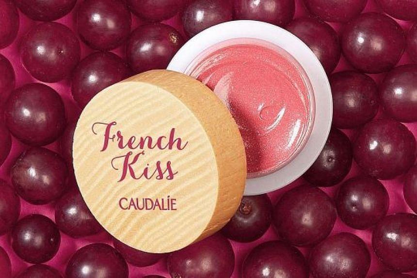Caudalie's creamy and nourishing balm