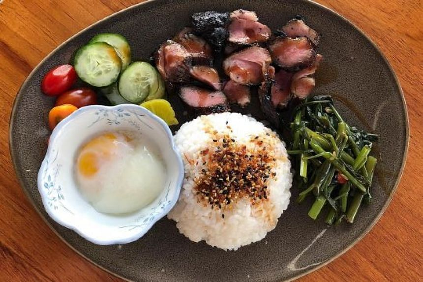 Iberico pork collar char siew from Miss G's Grill & Bar
