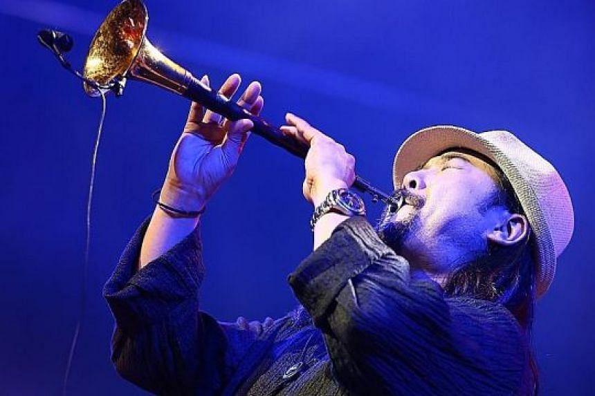 Chinese musician Guo Yazhi.