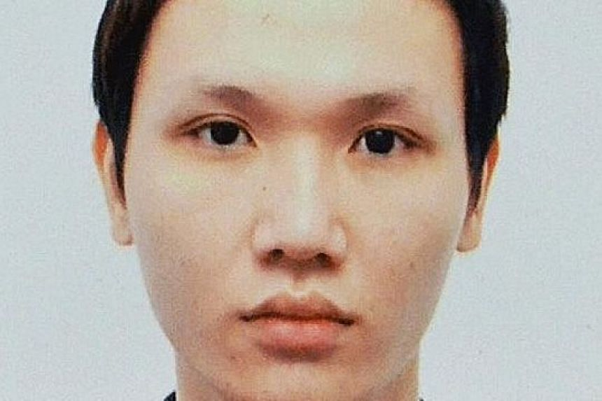 Su Caizhi, 30, has a history of schizophrenia, but often did not take his medication.