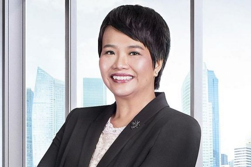 Ms Selena Ling suggested splitting Singapore's reserves into two portions.