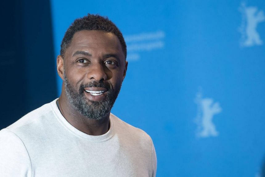 British actor Idris Elba poses during a photo call for the film Yardie shown in the Panorama Special category during the 68th edition of the Berlinale film festival in Berlin on Feb 22, 2018.