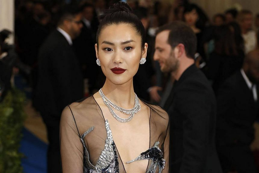 """China supermodel Liu Wen's """"Happy Lunar New Year"""" Instagram greeting triggered angry online messages, and she was accused of pandering to other Asian countries."""