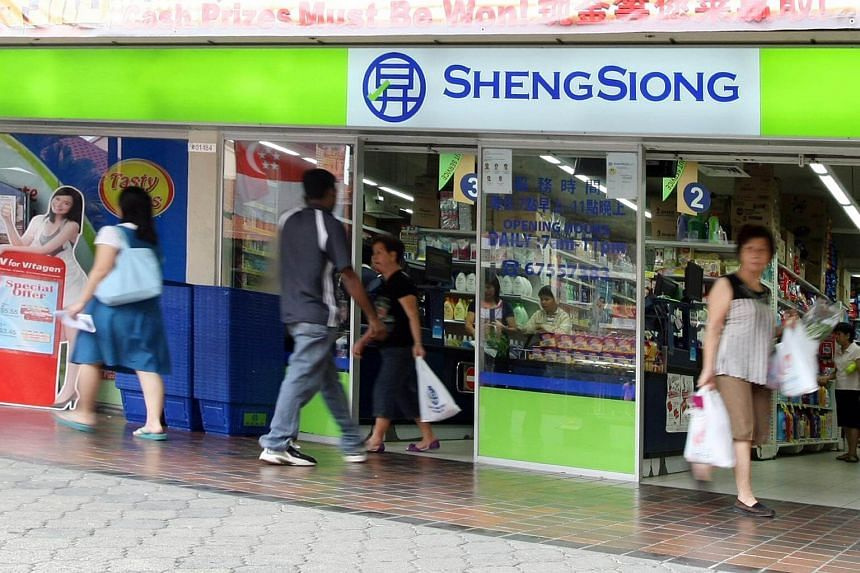 Sheng Siong Group reported a 9.3 per cent rise in net profit for the fourth quarter, as government grants gave a boost to the group's bottom line.