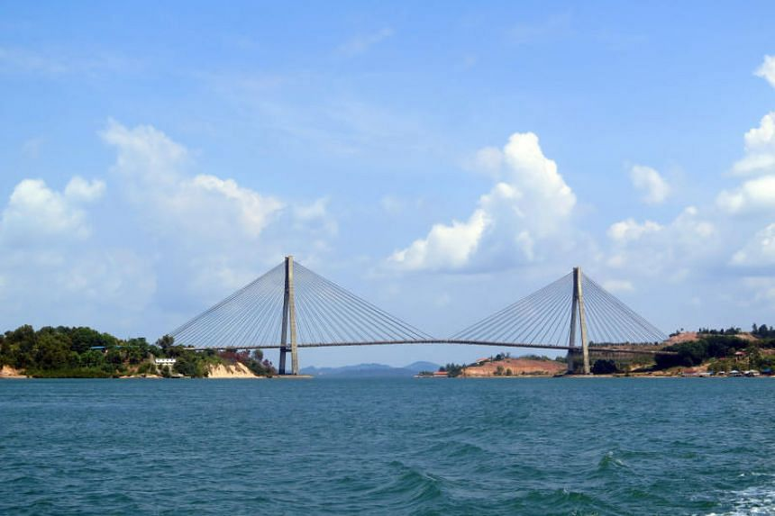 96 per cent of the Riau Islands Province, including Batam (pictured) and Bintan islands, consists of open seas.