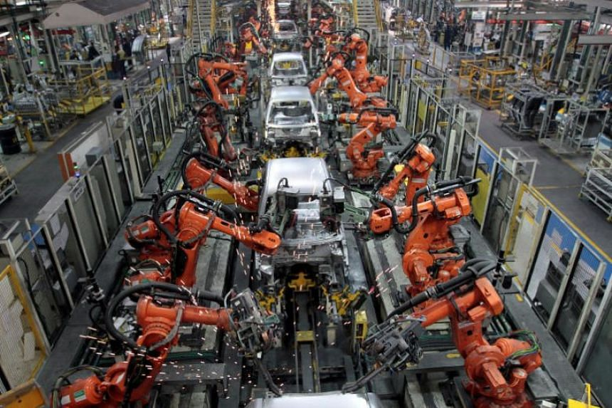 A Ford plant in Chengalpattu, India. Ford is one of the US businesses pressing India to cut tariffs after a move to increase customs duties on dozens of products.