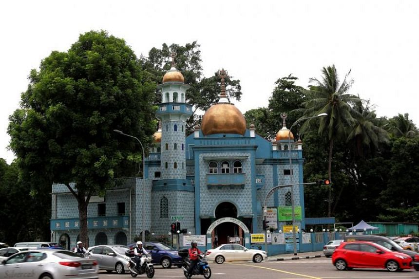 The Masjid Malabar Mosque falls under the second phase of the Islamic Religious Council of Singapore's Mosque Upgrading Programme.