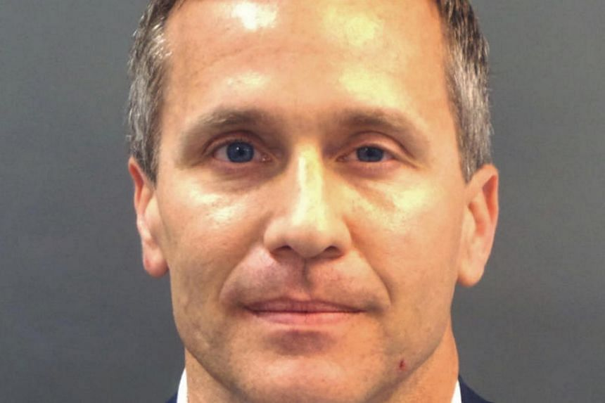 Missouri Governor Eric Greitens had allegedly taken a compromising photo of a woman he was having an affair with before he was elected in 2016.
