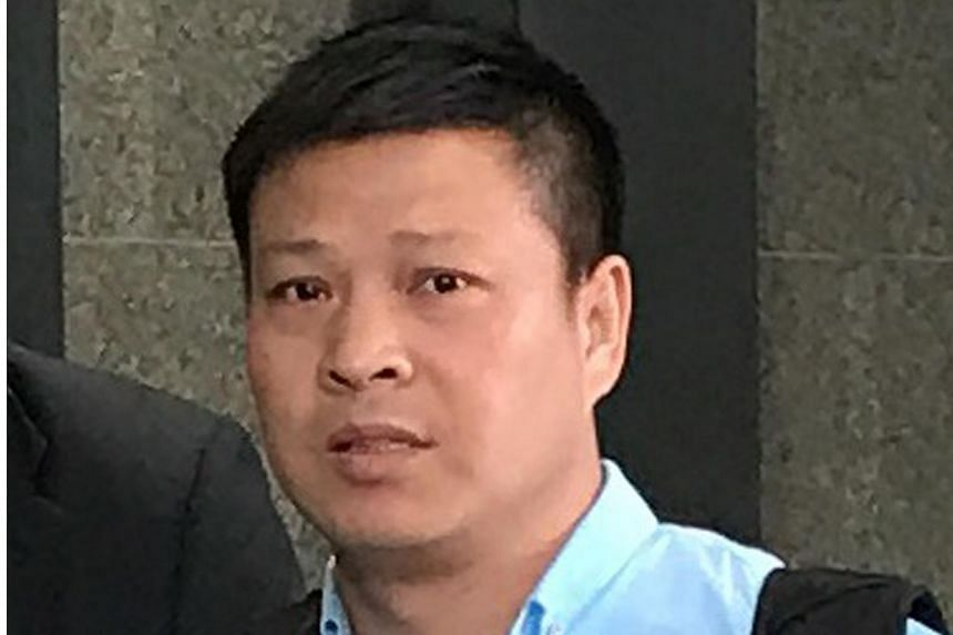 Pan Xuejun pleaded not guilty to the charges in the District Court of Hong Kong on Feb 22, 2018.