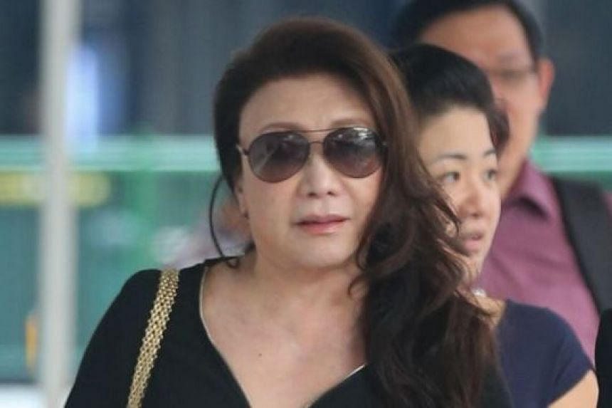 Shi Ka Yee, 72, is due for sentencing next month after assaulting a fellow motorist in Telok Ayer Street on Feb 25, 2014.