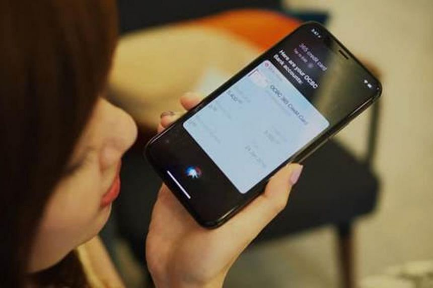 """OCBC has launched a """"voice banking"""" service utilising Apple iPhone's virtual assistant."""