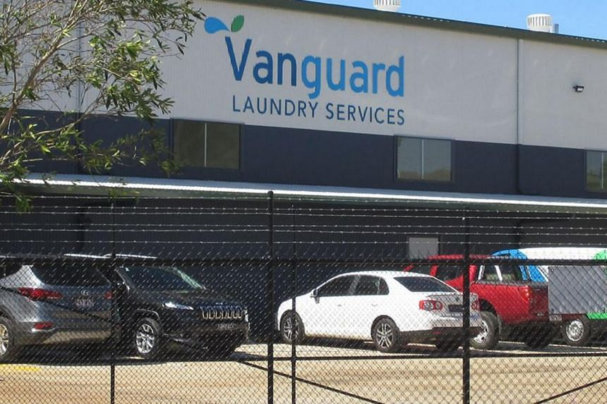 Vanguard Laundry Services employs more than 30 people and has more than 80 commercial customers.