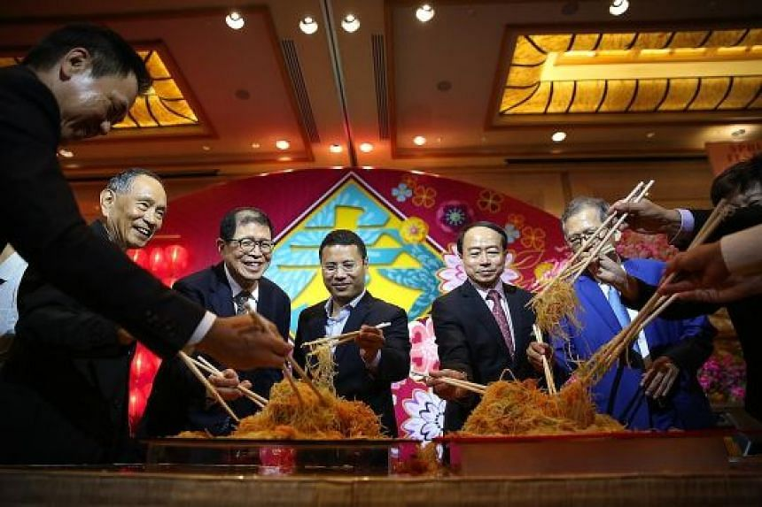 (From left) Mr Chaly Mah, chairman of the Singapore Accountancy Commission and Singapore Tourism Board and independent director of CapitaLand; Mr Loh Soo Eng, non-executive director of Wing Tai Holdings; Mr Kwee Liong Keng, managing director of Ponti