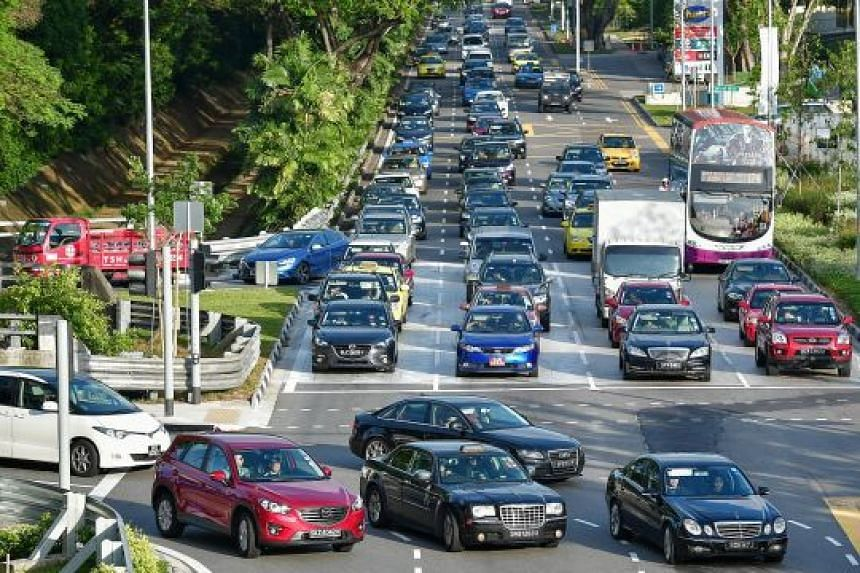 Private road transport inflation moderated to 1.6 per cent last month, from 2.6 per cent in December, due to lower car prices and a decline in certificate of entitlement premiums.