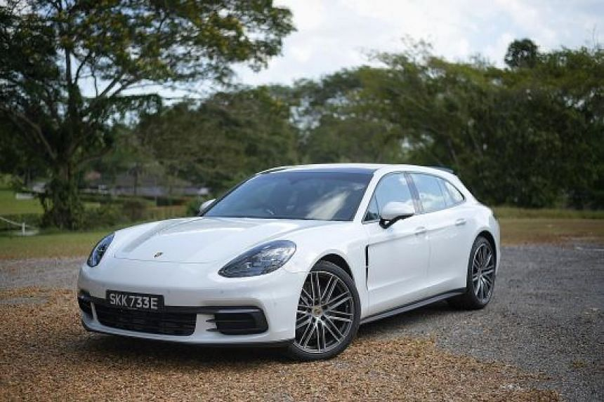 The Porsche Panamera Sport Turismo sounds fiercer than it looks.